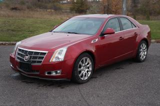 Used 2008 Cadillac CTS w/1SA AWD Leather Sunroof No Accident Clean Car! for sale in North York, ON