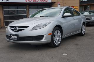 Used 2010 Mazda MAZDA6 GS I4 Auto SunRoof *No Accident* Mint! for sale in North York, ON
