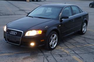 Used 2008 Audi A4 2.0T S-Line Quattro No Accident Very Clean Car! for sale in North York, ON