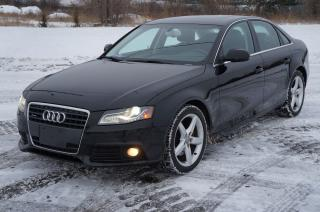 Used 2010 Audi A4 2.0T Premium Plus Quattro Navigation Sunroof Mint! for sale in North York, ON