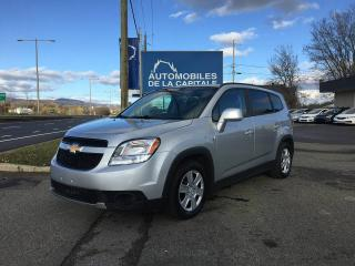 Used 2012 Chevrolet Orlando LT for sale in Chateau-richer, QC
