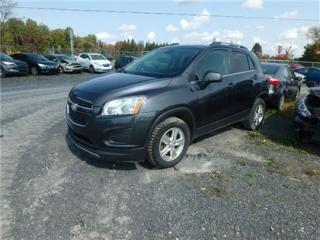 Used 2013 Chevrolet Trax 1LT for sale in Saint-philibert, QC
