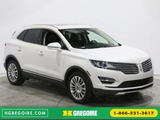 Used 2015 Lincoln MKC AWD CUIR TOIT PANO for sale in Saint-leonard, QC