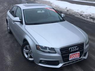 Used 2009 Audi A4 2.0T Quattro **FINANCING AVAILABLE** for sale in Mississauga, ON