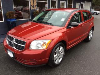 Used 2009 Dodge Caliber SXT for sale in Parksville, BC