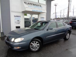 Used 2006 Buick Allure CXL Sedan, Sunroof, Reverse Sensors, Power SeatCXL for sale in Langley, BC