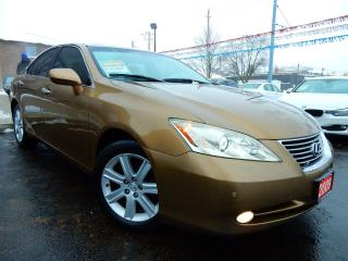 Used 2009 Lexus ES 350 PREMIUM | NAVIGATION | LEATHER.ROOF for sale in Kitchener, ON