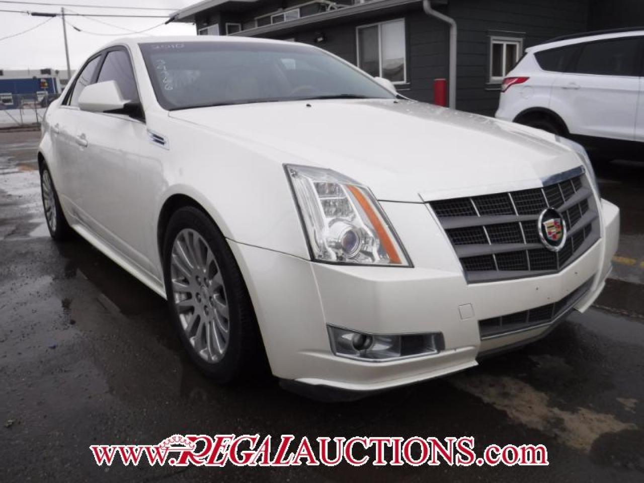 2010 Cadillac CTS BASE 4D SEDAN 3.6L AWD