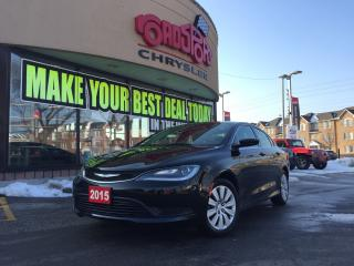 Used 2015 Chrysler 200 LX 4 DR SEDAN REMOTE START for sale in Scarborough, ON