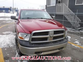 Used 2012 RAM 1500 ST CREW CAB 4WD for sale in Calgary, AB