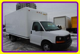 Used 2014 GMC Savana 3500 16' Cube with Ramp for sale in Woodbridge, ON