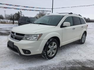 Used 2012 Dodge JOURNEY R/T * AWD * LEATHER * REAR PARKING SENSOR * SUNROOF * 7 PASS for sale in London, ON