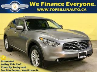 Used 2011 Infiniti FX35 Backup Camera, Power Liftgate, 2 Years Warranty for sale in Concord, ON