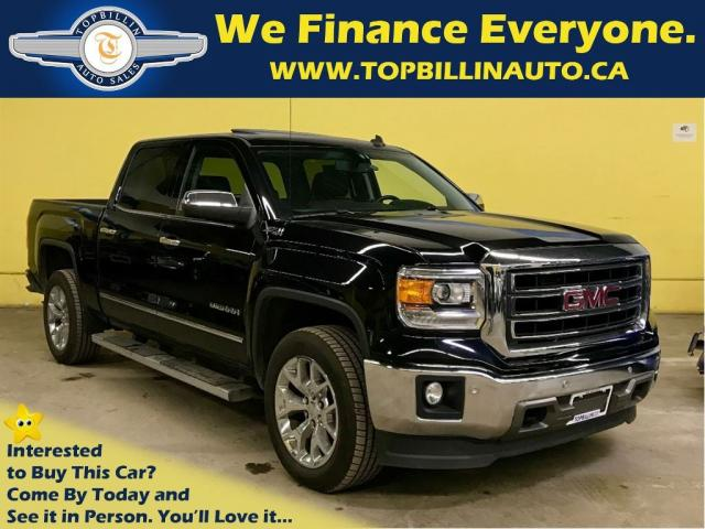 used 2014 gmc sierra 1500 slt 4x4 z71 leather sunroof for sale in concord ontario. Black Bedroom Furniture Sets. Home Design Ideas