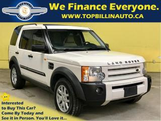 Used 2008 Land Rover LR3 Fully Loaded, 2 YEARS WARRANTY for sale in Concord, ON
