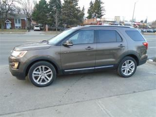 Used 2016 Ford Explorer 7 PASSENGER, LEATHER, SUNROOF. for sale in Scarborough, ON
