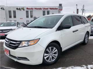 Used 2014 Honda Odyssey SE    bBack up camera - New Tires & Brakes for sale in Mississauga, ON