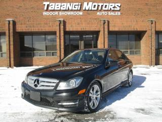 Used 2012 Mercedes-Benz C-Class PANORAMIC ROOF | NAVIGATION | LANE KEEP ASSIST | for sale in Mississauga, ON