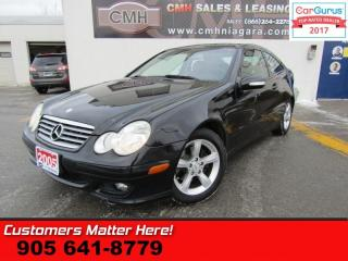 Used 2005 MERCEDES BENZ C-Class C230 Kompressor Sport  POWER LEATHER SEATS for sale in St Catharines, ON