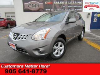 Used 2013 Nissan Rogue S  CAMERA, ALLOYS, BLUETOOTH, POWER GROUP for sale in St Catharines, ON