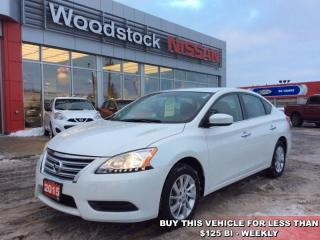 Used 2015 Nissan Sentra SV  - Bluetooth -  Heated Seats - $100.95 B/W for sale in Woodstock, ON