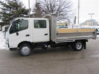 Used 2014 Hino 195 Crew Cab 2wd diesel with 12 ft aluminum box for sale in Richmond Hill, ON