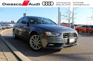 Used 2014 Audi A4 Tiptronic quattro Progressiv w/ Navigation for sale in Whitby, ON