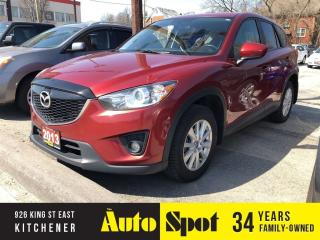 Used 2013 Mazda CX-5 GS/NAVI/LOADED/PRICED-FOR A QUICK SALE for sale in Kitchener, ON