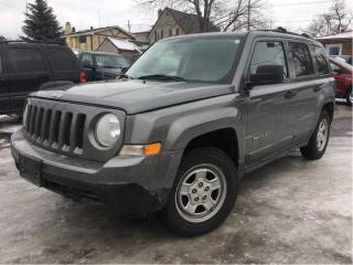 Used 2011 Jeep Patriot Sport/North NICE LOCAL TRADE IN!! for sale in St Catharines, ON