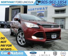 Used 2016 Ford Escape Titanium | NAV | PANO ROOF | LEATHER | 4X4 | for sale in Brantford, ON