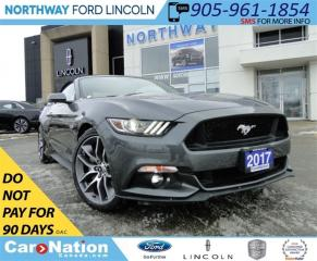 Used 2017 Ford Mustang GT Premium | CONVERTIBLE | NAV | LEATHER | for sale in Brantford, ON