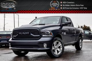 Used 2018 Dodge Ram 1500 Sport|4x4|Only 38 Km|Backup Cam|Bluetooth|Leather|Heat and Cold Seats|20