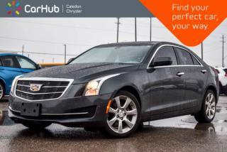 Used 2015 Cadillac ATS Sedan Standard|AWD|Backup Cam|Bluetooth|Leather|Heated Front Seats|Keyless Go|17