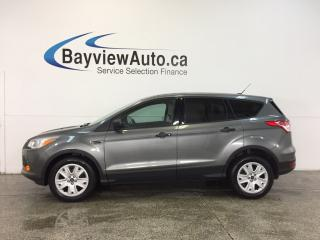 Used 2014 Ford Escape S- 2.5L|HITCH|A/C|CRUISE|LOW KM'S! for sale in Belleville, ON