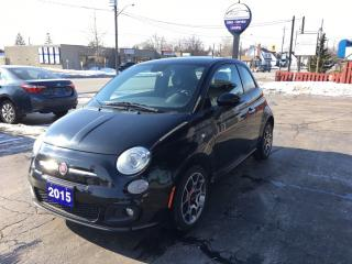 Used 2015 Fiat 500 Sport for sale in Brantford, ON