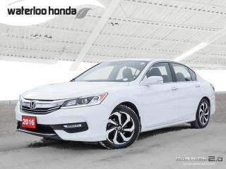 Used 2016 Honda Accord EX-L Bluetooth, Back Up Camera, Heated Seats and more! for sale in Waterloo, ON