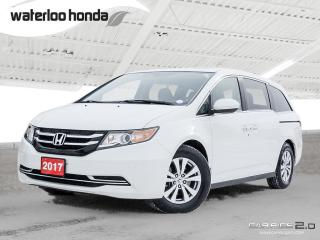 Used 2017 Honda Odyssey EX-L Bluetooth, Back Up Camera, Heated Seats and more! for sale in Waterloo, ON