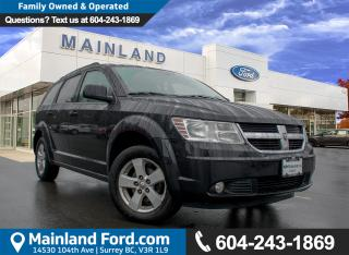 Used 2012 Dodge Journey SXT & Crew ACCIDENT FREE, BC VEHICLE for sale in Surrey, BC