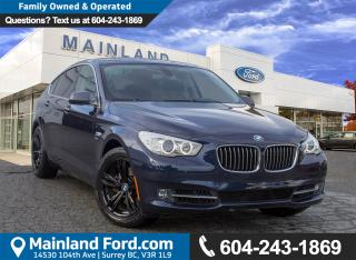 Used 2011 BMW 535 Gran Turismo i xDrive ACCIDENT FREE, LOW KMS, BC VEHICLE for sale in Surrey, BC