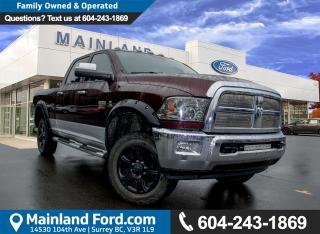 Used 2012 Dodge Ram 3500 Laramie ***ACCIDENT FREE*** for sale in Surrey, BC