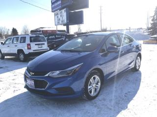 Used 2017 Chevrolet Cruze LT Auto LT Sedan with Cruise and Heated Seats! for sale in Brantford, ON
