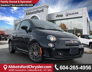 Used 2016 Fiat 500 Abarth *ACCIDENT FREE* *LOCALLY DRIVEN* for sale in Abbotsford, BC