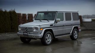 Used 2002 Mercedes-Benz G500 for sale in Vancouver, BC