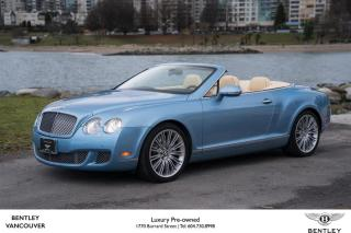 Used 2010 Bentley Continental GTC Speed for sale in Vancouver, BC