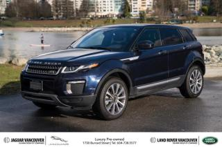 Used 2016 Land Rover Evoque HSE *Certified Pre-Owned! for sale in Vancouver, BC