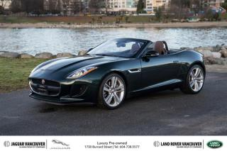 Used 2017 Jaguar F-Type Convertible at for sale in Vancouver, BC