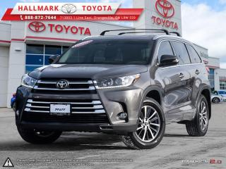 Used 2017 Toyota Highlander XLE AWD ONE OWNER, LOW KM HIGHLANDER MUST BE SEEN AND TEST DRIVEN for sale in Mono, ON
