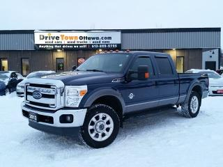 Used 2013 Ford F-250 Super Duty LARIAT CREW CAB 4X4 **6.7L TURBO DIESEL** for sale in Gloucester, ON