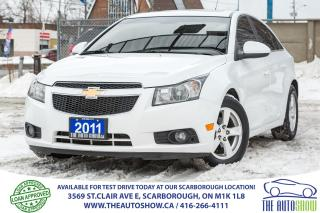 Used 2011 Chevrolet Cruze FOUR TO CHOOSE LT Turbo Sunroof Bluetooth Alloys for sale in Scarborough, ON
