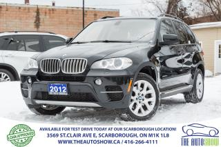 Used 2012 BMW X5 35D NAVI SportPkg 360Camera RunningBoards OneOwner for sale in Caledon, ON